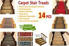 14 PCS Non-Slip Washable Carpet Stair Treads - Stair Mats - Best Price Guarantee