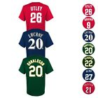 MLB Team Player Name & Number Jersey T-Shirt Collection Boys Youth Size (4-18) image