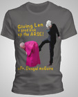 FATHER TED FR.TED T-SHIRT KICKING LEN UP THE A*SE DADS | BIRTHDAY COMIC S-2XL