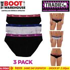 TRADIE LADY UNDERWEAR  -  COTTON BIKINI BRIGHTS  -  3 PACK  -  FREE DELIVERY!