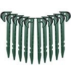 10 - 1000 Ground Cover Fixing Anchor Pegs Camping Outdoors Festival Tent Hiking