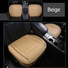 Universal Car Seat Cover Breathable PU Leather Pad Mat Chair Cushion Protector N