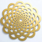 MDF Placemat NEW GOLD SILVER