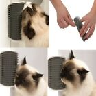 Pet Dog Cat Self Groomer Plastic Wall Corner Massage Grooming Cleaning Brush US