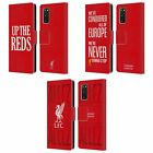 LIVERPOOL FC 2017/18 KINGS OF EUROPE PU LEATHER BOOK CASE FOR SAMSUNG PHONES 1