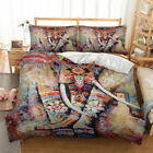 Novelty Animal Duvet Quilt Doona Cover Set Single Queen King Double Size Bed Set