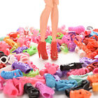 15/30/60 Pairs Doll Shoes Multiple Styles Heels Sandals For Barbie Dolls PR