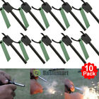 20xSurvival Magnesium Flint Stone Fire Starter Emergency Lighter Kit For Camping