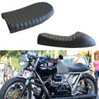 Motorcycle Cafe Racer Flat Brat&Hump Saddle Seats Black For Honda CB Moto-Guzzi $44.5 USD on eBay