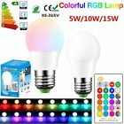 Внешний вид - E27 LED RGB White 16 Color Changing Magic Lamp Light Bulb With IR Remote Control