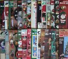 Leisure Arts PLASTIC CANVAS Patterns HOLIDAYS Christmas Halloween +*YOU CHOOSE