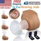 Внешний вид - 2 x Small In Ear Invisible Best Sound Amplifier Adjustable Tone Hearing Aids Aid