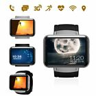 New Style DM98 Android 3G Phone Smartwatch Dual Core 1.2GHz 4GB Camera Bluetooth