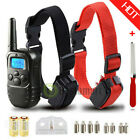 Внешний вид -  Waterproof 1000 Yard 2 Dog Shock Training Collar Pet Trainer with Remote 4 Mode