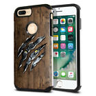 "For Apple iPhone 8 Plus/ iPhone 7 Plus 5.5"" Slim Impact Hybrid Hard Case Cover"