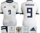 DZAGOEV 9 - RUSSIA AWAY 2018 WORLD CUP ADIDAS SHIRT SS = ADULTS