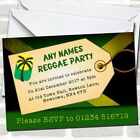 Jamaican Reggae Children's Birthday Party Invitations