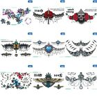 1 Sheet Temporary Tattoo Totem Fake Tatoo Sticker Sexy Body Art Waterproof New