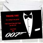 James Bond Theme Party Thank You Cards $10.95 USD on eBay