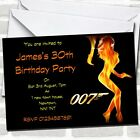 Bond Girl James Bond Party Invitations $29.95 USD on eBay