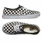 Vans Authentic Golden Coast Checkerboard Shoes Sneakers Black/White