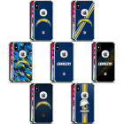 NFL LOS ANGELES CHARGERS LOGO SILVER SHOCKPROOF FENDER CASE iPHONE SAMSUNG LG