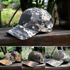 Unisex Baseball Cap Hat Tactical Military Patch Woodland Digital Camo Hat US New