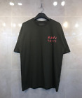 Mens Oversize Fit CaliSport Printed Short Sleeve T-Shirts Black Beige Season5 St
