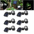 Solar Spotlights 6 LED Projection Lights Underwater Garden Outdoor Pond Lighting