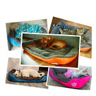 US Large Pet Dog Cat Bed Puppy Cushion House Soft Warm Kennel Mat Blanket S -2XL