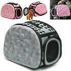 Pet Dog Cat Puppy Handbag Carrier Travel Carry Tote Cage Bag Crates Kennel US