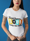 Northern Soul Keep The Faith T Shirt Men's and Women's Sizes