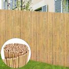 Vidaxl Garden Fence Bamboo Outdoor Screen Border Edging Barrier Multi Sizes