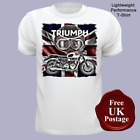 Triumph T Shirts, Men's t shirt, Triumph Motorcycles, Union jack T Shirt, Uno... £14.95 GBP on eBay