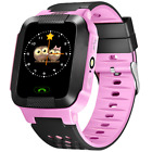 Kids Blue Smart Phone Watch GPS Tracker Anti-lost Waterproof For iOS Android US