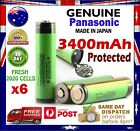 Panasonic NCR 18650 B 3400mAh PROTECTED Lithium Li-Ion Rechargeable Battery