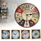Exotic Retro Antique Room Decoration Kitchen Time Wall Clock