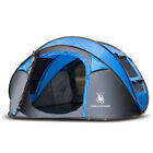 Outdoor 3-4 Persons Camping Tent Automatic Opening Single Layer Canopy