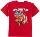 Reel Legends Big Boys Patriotic Fish T-Shirt
