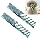 Pet Dog Cat Puppy Full Stainless Pin Comb Hair Shedding Grooming Cleaning US