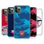 ARSENAL FC 2018/19 CREST AND GUNNERS LOGO SOFT GEL CASE FOR APPLE iPHONE PHONES