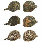 Flexfit Fitted Low Profile Mossy Oak Camo Cotton Hat with Curved Visor, Infinity