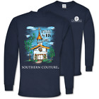 Southern Couture Amazed By His Grace Faith Long Sleeve T-Shirt