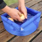 Portable 8L Outdoor Camping Foldable Water Bucket Inflatable QC