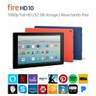 "Fire HD 10 Tablet with Alexa Hands-Free, 10.1"" 1080p Full HD Display, 32 GB"