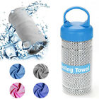 Cool Down Gym Towel Sports Fitness Jogging ICE Cold Instant Cooling Chill Cloth image
