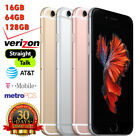 NEW Apple Iphone 6S -16GB- 64GB-128GB Factory Unlocked(GSM+CDMA) Intl. OK COLORS