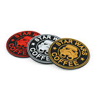 Star Wars Coffee 3D PVC Rubber Hook Patch Tactical Morale Combat Badge AU $12.99 AUD on eBay