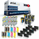 10x XL Tintenpatronen für Epson Expression Home Premium Stylus Workforce Sparset