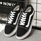 Hot Men's VAN Classic OLD SKOOL Low / High Top Canvas sneakers SK8 Shoes Fashion